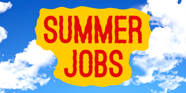Summer Jobs 2020 now available